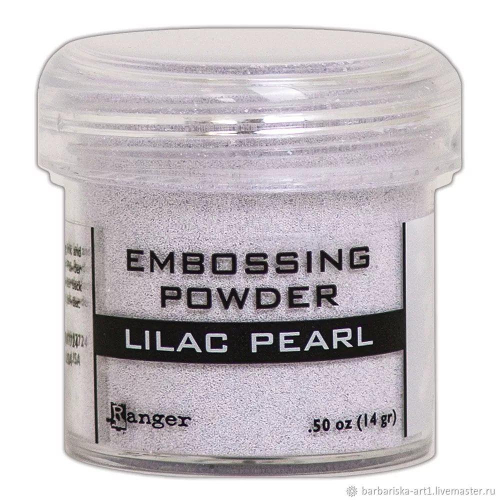 Пудра для эмбоссинга Ranger Lilac Pearl, Материалы, Смоленск, Фото №1