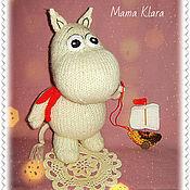 Куклы и игрушки ручной работы. Ярмарка Мастеров - ручная работа Муми Тролль. Handmade.