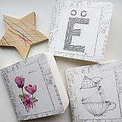 Канцелярские товары ручной работы. Ярмарка Мастеров - ручная работа Блокноты для рисования. Handmade.