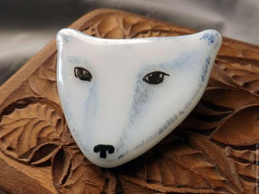 """Броши ручной работы. Ярмарка Мастеров - ручная работа. Купить Брошь """"Белый медведь"""". Handmade. Белый, полюс, магия"""