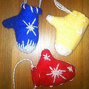 Подарки к праздникам ручной работы. Ярмарка Мастеров - ручная работа Игрушки на Елку. Handmade.