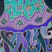 Картины и панно ручной работы. Ярмарка Мастеров - ручная работа Картина. Медуза танцует. Handmade.