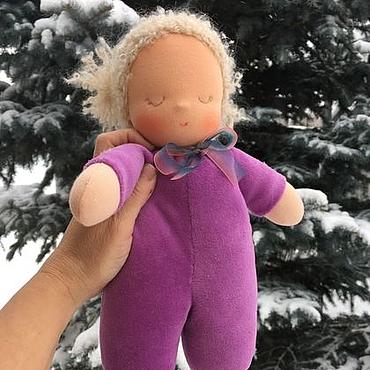 Куклы и игрушки ручной работы. Ярмарка Мастеров - ручная работа Сплюшка - Снежная Соня. Handmade.