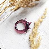 Украшения handmade. Livemaster - original item Ring with a crown. Handmade.