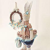 Куклы и игрушки ручной работы. Ярмарка Мастеров - ручная работа Кроля Эсти с пасхальным яйцом. Handmade.