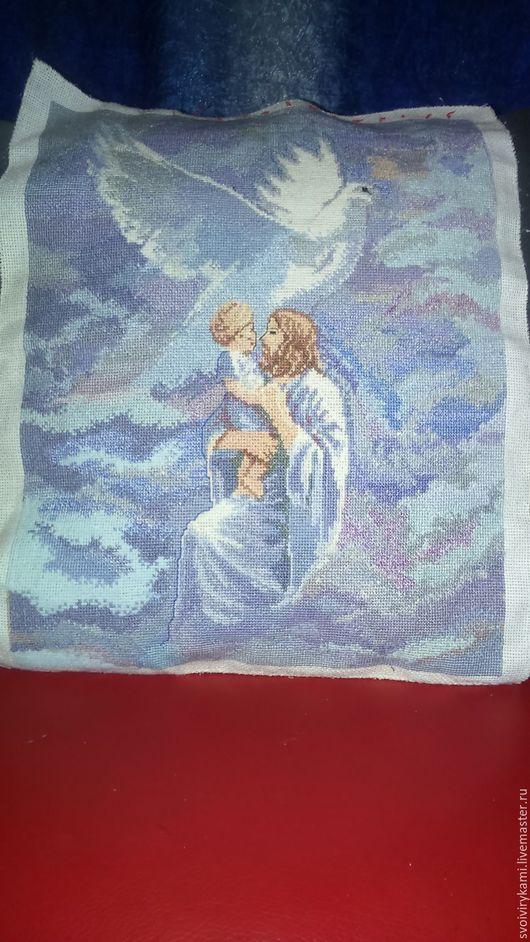 Иконы ручной работы. Ярмарка Мастеров - ручная работа. Купить Иесус и голубь мира. Handmade. Спокойствие, умиротворение, вера