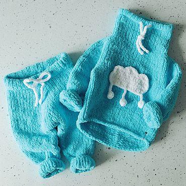 """Одежда ручной работы. Ярмарка Мастеров - ручная работа Плюшевый костюм """"Cloud"""". Handmade."""