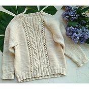 Джемперы ручной работы. Ярмарка Мастеров - ручная работа Детский свитер #3. Handmade.