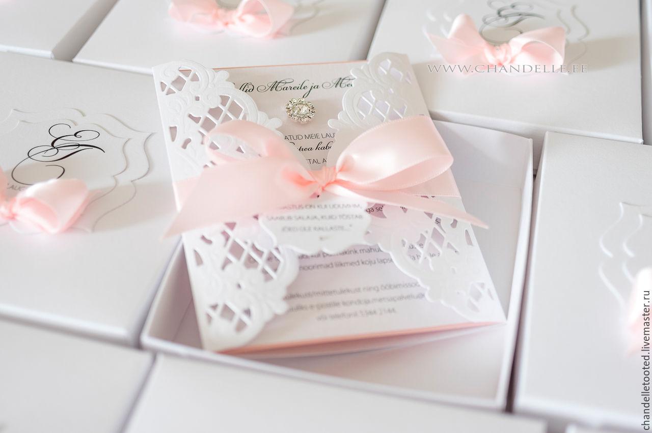 Handmade wedding invitation – shop online on Livemaster with ...
