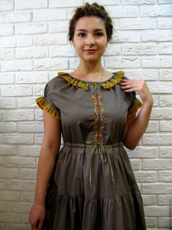 a8cbd107faa Платье летнее в пол