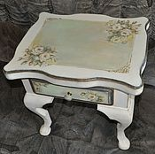 """Для дома и интерьера ручной работы. Ярмарка Мастеров - ручная работа """"Ирэн"""" столик прикроватный. Handmade."""