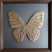 Картины и панно handmade. Livemaster - original item Golden butterfly. Handmade.