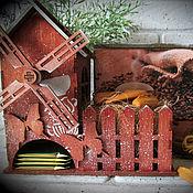 Для дома и интерьера ручной работы. Ярмарка Мастеров - ручная работа Набор чайный : Домик Короб для сладостей. Handmade.
