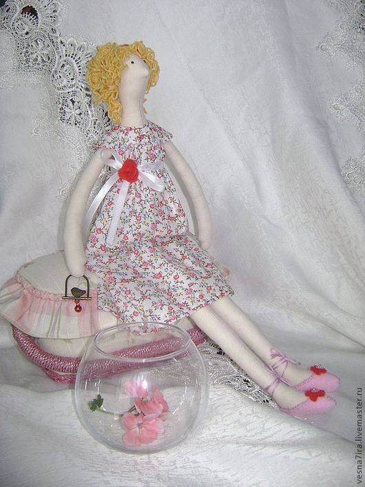 """Куклы и игрушки ручной работы. Ярмарка Мастеров - ручная работа. Купить Набор для шитья куклы """"Ангел цветов"""". Handmade. Кукла"""
