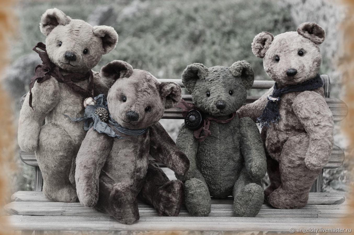 Soviet bear (pattern1950-70 years), Teddy Bears, Samara,  Фото №1