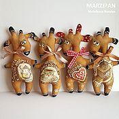 Куклы и игрушки ручной работы. Ярмарка Мастеров - ручная работа Магниты  ароматные. Кофейные игрушки. Жирафы.. Handmade.