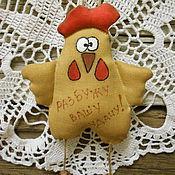 Подарки к праздникам ручной работы. Ярмарка Мастеров - ручная работа Петушок пряничный. Текстильная игрушка. Handmade.