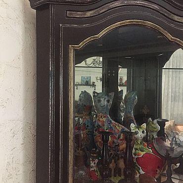 Для дома и интерьера ручной работы. Ярмарка Мастеров - ручная работа Витрина из дуба. Handmade.