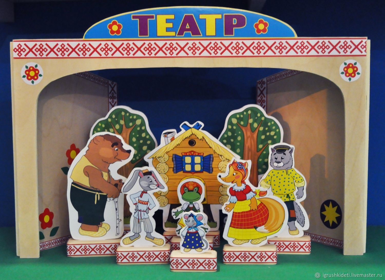 Настольный театры картинки для кошки