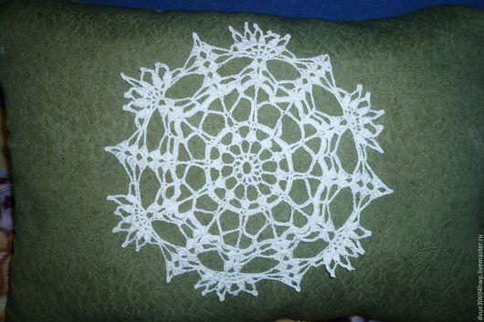 Текстиль, ковры ручной работы. Ярмарка Мастеров - ручная работа. Купить Подарочная салфетка. Handmade. Белый, крючок, ручная вязка