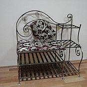 """Кованая банкетка """"Императрица"""" кованая мебель. Скидка 13%"""