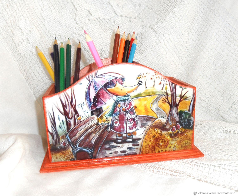 Pencil Chanterelles, Pencil holders, Novosibirsk,  Фото №1