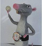 """Куклы и игрушки ручной работы. Ярмарка Мастеров - ручная работа Крыс Веня """"Белка и Стрелка"""". Handmade."""