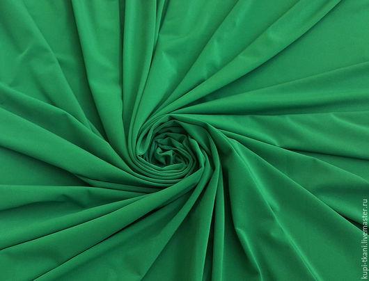 Шитье ручной работы. Ярмарка Мастеров - ручная работа. Купить Масло матовое Корея (зеленое). Handmade. Трикотаж, трикотажное полотно
