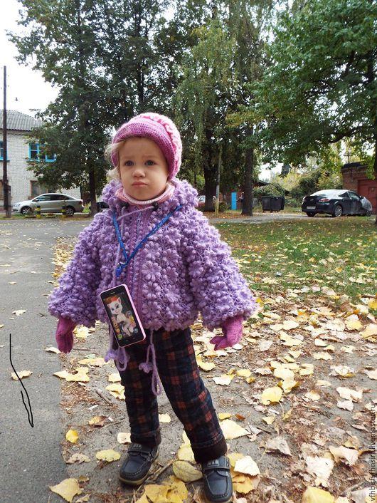 Одежда для девочек, ручной работы. Ярмарка Мастеров - ручная работа. Купить курточка детская. Handmade. Куртка с капюшоном, для детей, осень