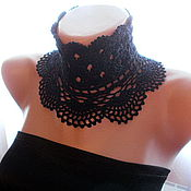 Аксессуары handmade. Livemaster - original item Lace Mandarin collar