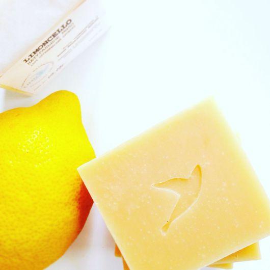 """Мыло ручной работы. Ярмарка Мастеров - ручная работа. Купить """"Limoncello"""" лимонное мыло с ликером. Handmade. Лимонный, органическое мыло"""