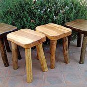 Для дома и интерьера handmade. Livemaster - original item Stool, wooden stool. Handmade.