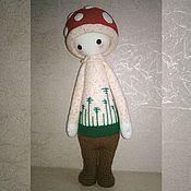 """Куклы и игрушки ручной работы. Ярмарка Мастеров - ручная работа Игрушка крючком """"Мухомор"""". Handmade."""