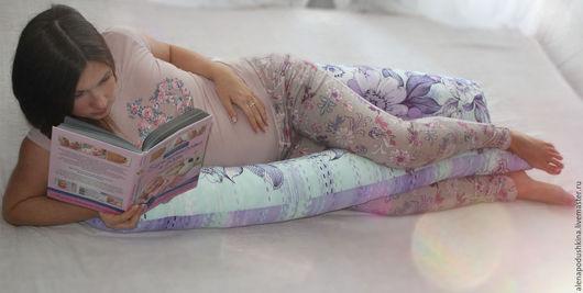 Текстиль, ковры ручной работы. Ярмарка Мастеров - ручная работа. Купить Подушка для сна, для беременных. Handmade. Ортопедическая подушка