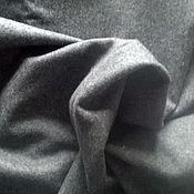 Материалы для творчества handmade. Livemaster - original item Fabric CLOTH gray 100% wool, cut 2,00 m. vintage fabric. soviet union.. Handmade.