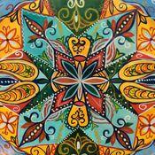 Картины и панно ручной работы. Ярмарка Мастеров - ручная работа Мандала Керала. Handmade.