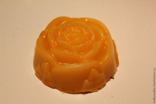 Мыло ручной работы. Ярмарка Мастеров - ручная работа. Купить Чайная роза. Мыло ручной работы. Handmade. Оранжевый
