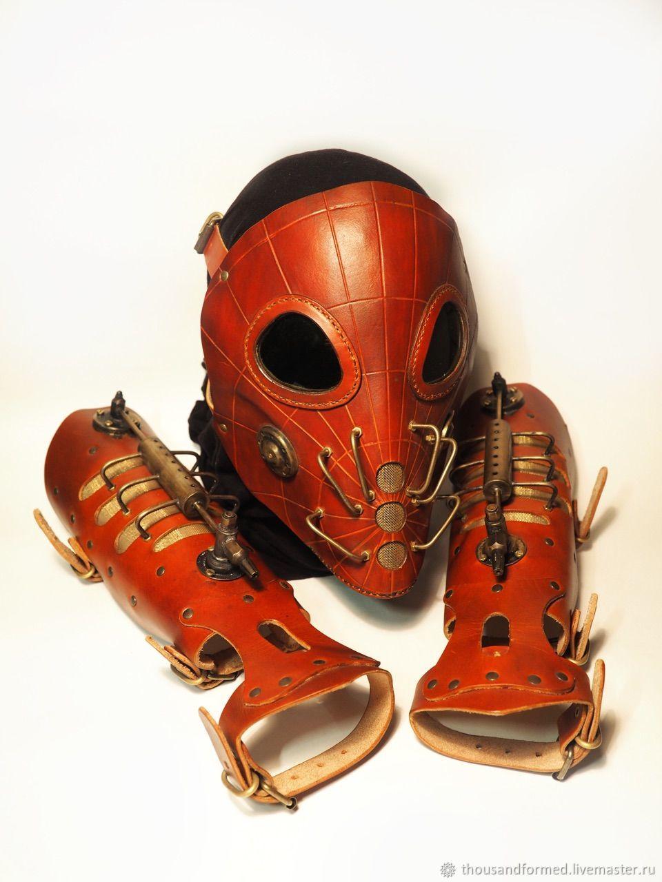 "Стимпанк маска и наручи ""Spider"", Аксессуары, Санкт-Петербург,  Фото №1"