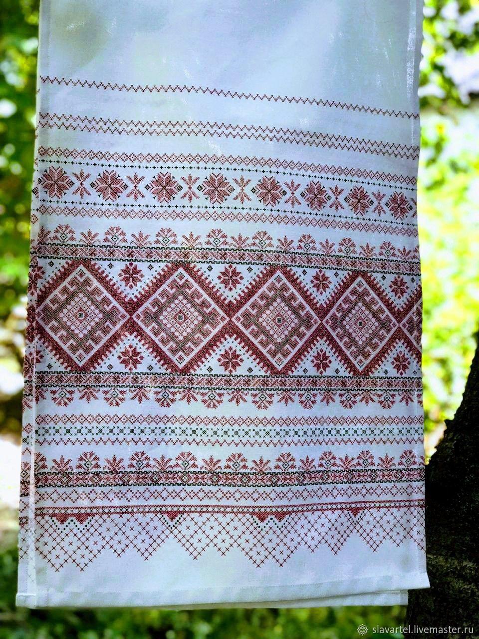 Towel Native patterns, Wedding towels, Pyatigorsk,  Фото №1