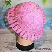 Аксессуары handmade. Livemaster - original item Panama: Hat-panamka