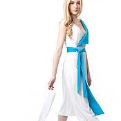 Одежда ручной работы. Ярмарка Мастеров - ручная работа Платье летнее на запах/Платье MODAMODULE. Handmade.