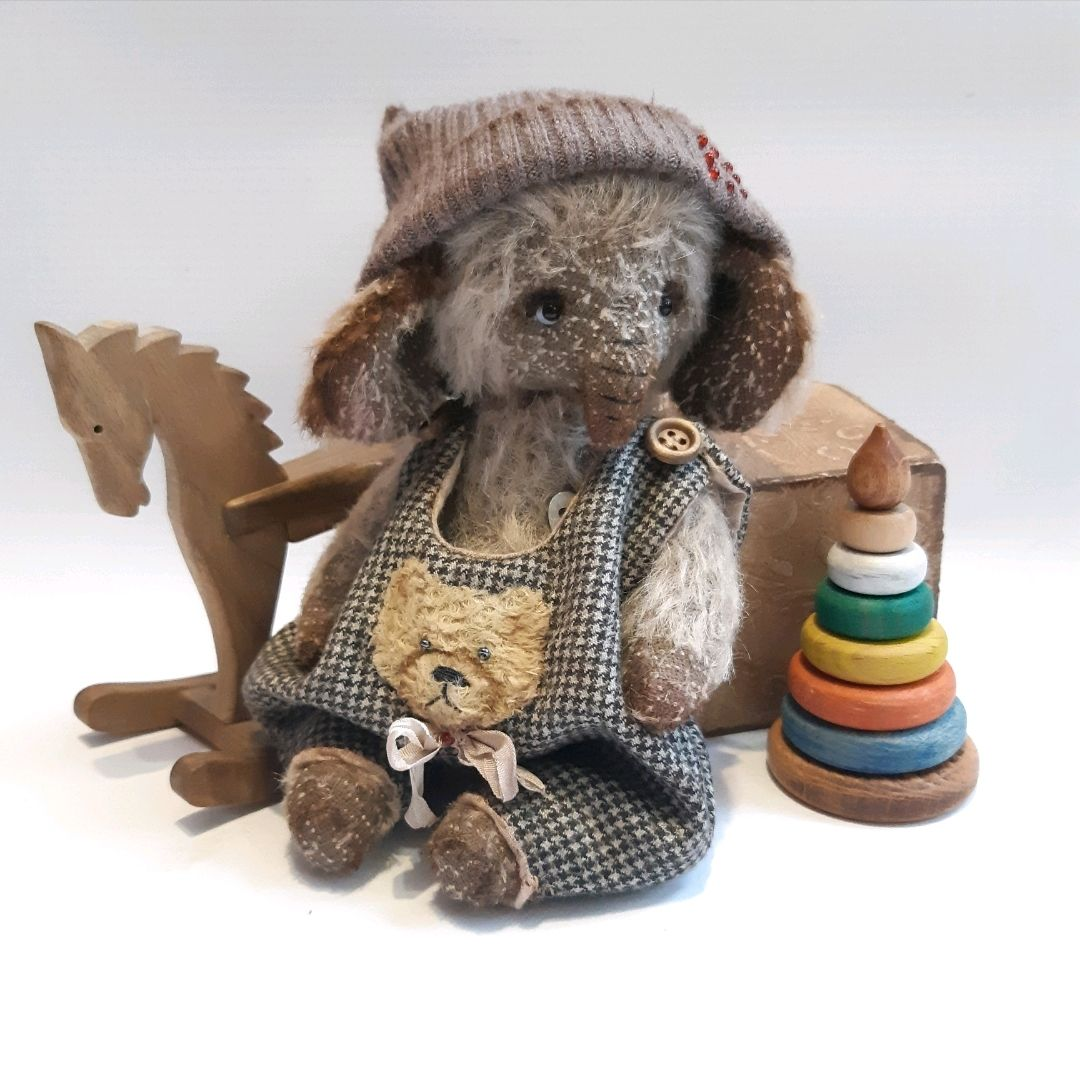 """Тедди слон """"Гоша"""", Мишки Тедди, Москва,  Фото №1"""