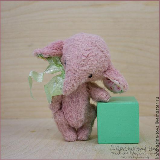 """Мишки Тедди ручной работы. Ярмарка Мастеров - ручная работа. Купить Джейн.  Тедди-слоник. Коллекция """"Нежность"""". Handmade."""