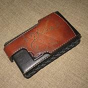 Сумки и аксессуары handmade. Livemaster - original item Violin. Cigarette case. sigaretta. Case for cigarettes, cigaril. Handmade.