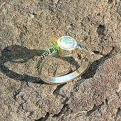Украшения handmade. Livemaster - original item Modern 4 ring with cubic zirconia in 925 DD0109 silver. Handmade.