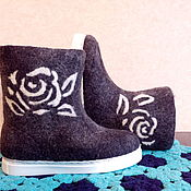 Обувь ручной работы handmade. Livemaster - original item Boots-boots are handmade on the sole.. Handmade.