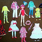 Куклы и игрушки ручной работы. Ярмарка Мастеров - ручная работа Магнитная кукла. Handmade.
