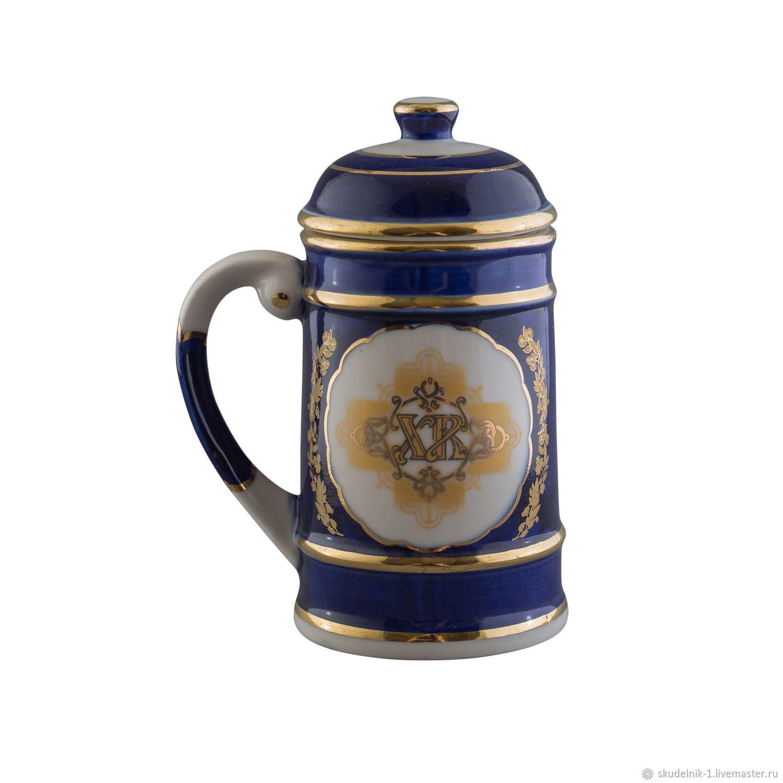 Кружка с крышкой средняя, Пасхальные сувениры, Санкт-Петербург,  Фото №1
