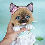 Куклы и игрушки ручной работы. Ярмарка Мастеров - ручная работа Сиамская кошечка Танюша. Handmade.