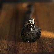 Сувениры и подарки handmade. Livemaster - original item Bead for lanyard skull of Ragnar. Handmade.